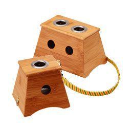 棒灸 棒灸ホルダー Sサイズ 1孔 (単孔艾灸盒) トワテック