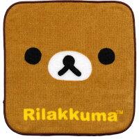 ★NEW★キャラクターリラックマミニタオルハンカチ「KAOリラックマ」【20枚までメール便OK!】【NEW】