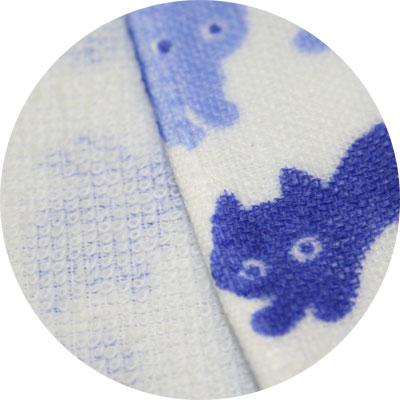 【日本製】小桜ガーゼ小紋柄 お湯あがり(バスタ...の紹介画像3
