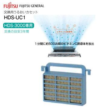 【メーカーから取寄せ】【ネコポスお届け】【代引不可】交換用うるおいカセット プラズマイオンUV脱臭機(PLAZION)富士通ゼネラル HDS-3000G/HDS-3000V専用【RCP】 HDS-UC1