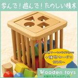 木のおもちゃ 赤ちゃん 積木バスケット 25pcs 赤ちゃん用木のおもちゃ 木製玩具 木の玩具【出産祝い】【RCP】【632713】【コンビニ受取対応商品】