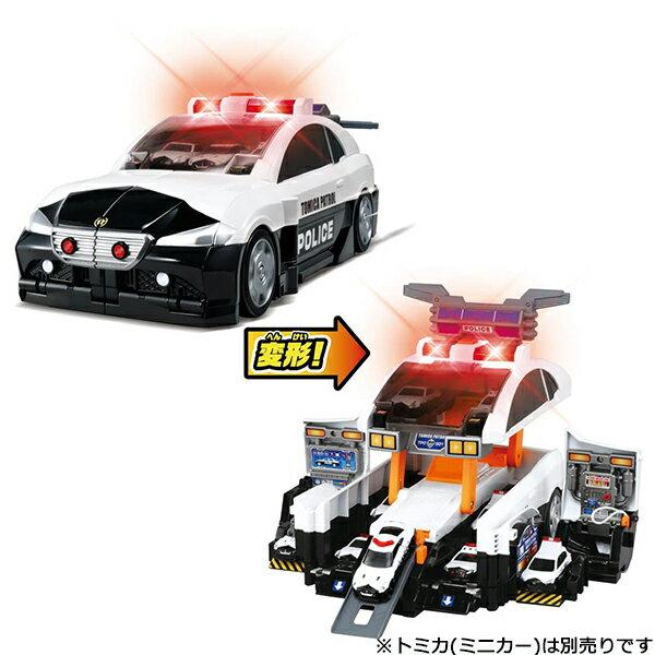 トミカトミカワールドビッグに変形デカパトロールカー|おすすめ誕生日プレゼントギフトおもちゃ