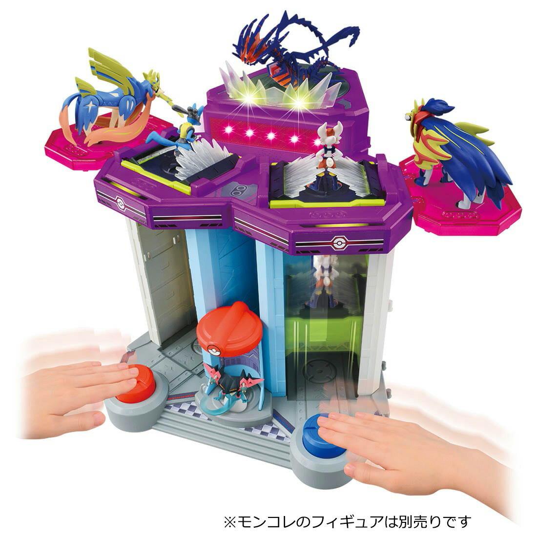 ポケットモンスター モンコレ 無限連打!! キョダイバトルタワー   おもちゃ画像