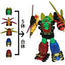 昆虫合体 変形ロボ フュージョンロボ [カラー選択不可] | おもちゃ
