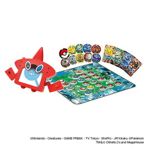ポケモン ゲームファクトリー ポケットモンスターサン&ムーン ロトム図鑑のポケモンオセロ パーティーゲーム7