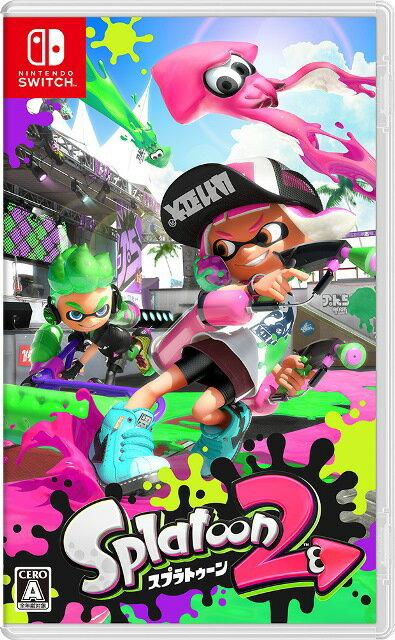 Nintendo Switch, ソフト SwitchSplatoon2(2)