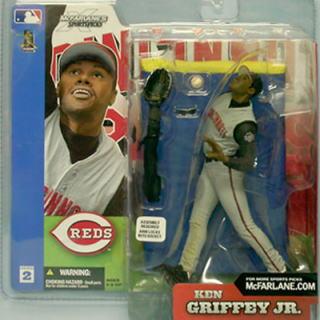 McFarlane Toys MLB figures series 2 and Ken Griffey Jr./ Cincinnati Reds