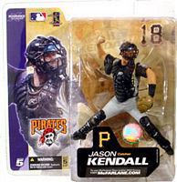 McFarlane Toys MLB figures series 5 / Jason-Kendall variant gray / Pittsburgh Pirates