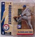 【まもなく再入荷 8】マクファーレントイズ MLB フィギュア シリーズ8/アレックス・ロドリゲス variant/テキサス・レンジャース