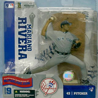 McFarlane Toys MLB series Figure 9 and Mariano Rivera and New York Yankees