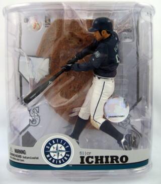 McFarlane Toys MLB figures series 22 Ichiro and Seattle Mariners