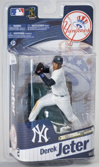 McFarlane Toys MLB series Figure 27 Derek Jeter, New York Yankees