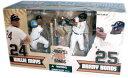 【まもなく再入荷 1607】マクファーレントイズ MLB フィギュア2パックシリーズ バリー・ボンズ&ウィリー・メイズ