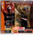 【まもなく入荷 2】マクファーレントイズ NBAフィギュア シリーズ3/ラシード・ウォレス/ポートランド・ブレイザーズ【05P24Feb14】