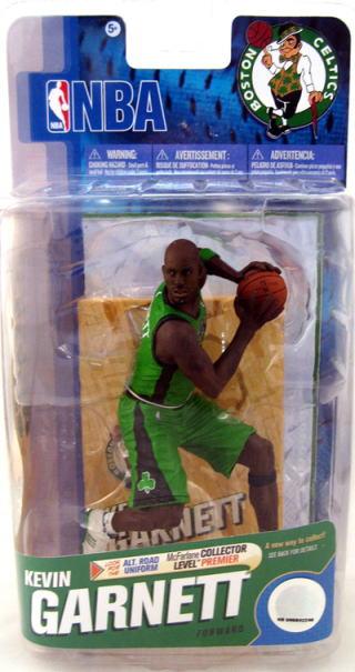 McFarlane NBA figure series 18 and Kevin Garnett collectors level 3000 limited edition / Boston Celtics