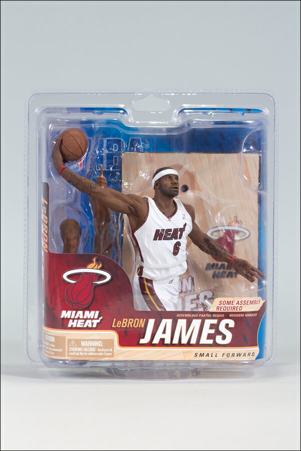 McFarlane NBA series 21/LeBron James and Miami Heat