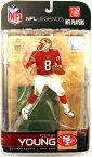 【まもなく再入荷 1509】マクファーレントイズ NFL レジェンドシリーズ5 スティーブ・ヤング/サンフランシスコ・49ERS