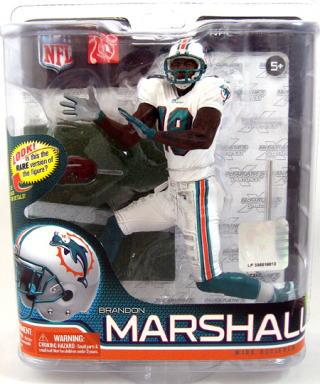 McFarlane toys NFL series figure 26 Brandon, Marshall variant 3000 limited edition / Miami Dolphins