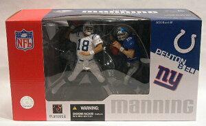 マクファーレントイズ NFL フィギュア2パックシリーズ/ペイトン・マニング & イーライ・マニング