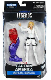 [不久再一次進貨的1607]Marvel Legends Captain America Wave 01 Agents of Shield Sharon Carter/MARVEL傳奇