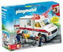 【まもなく再入荷2003】【送料無料】Playmobil AMBULANCE プレイモービル 救急車【9114】