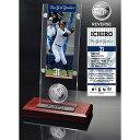 【まもなく入荷 7】2014年 MLB イチロー Ticket & Minted Coin Acrylic Desk Top/ニューヨーク...