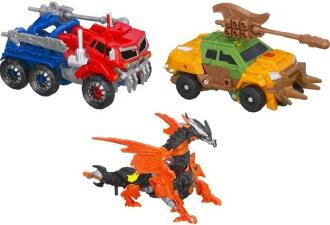 Transformers Prime Beast Hunters Cyberverse Commander Series 01 - Set of 3 / HASBRO
