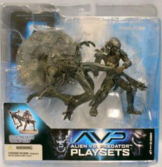 麥克法蘭玩具 AVP 外星人 VS 捕食者 2 塞爾特人捕食者拋出外星人