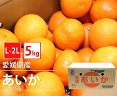 【今が旬】【国産】愛媛県産あいかL-2Lサイズ【5kg18-25玉前後】【愛媛県家庭用贈り物贈答お祝いお返しこたつ柑橘みかん秀柑橘類お歳暮お年賀】