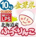 米食味ランキング【特A】獲得金芽米【無洗米】北海道産ふっくりんこ10kg【5kg× 2袋】【送…