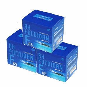 【送料無料】AHフコイダンF85(60包入り) 3箱セット【トンガ】【もずく】【抗菌作用】【アレルギー抑制】【コレステロール】