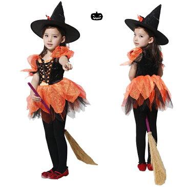 あす楽 送料無料 ハロウィン 衣装 ワンピース 女の子 ハロウィーン衣装 ハロウィン衣装 子供 魔女 悪魔【ハロウィン 衣装 子供 魔女 コスチューム 仮装 ハロウィン 魔女 ハロウィン 衣装 子供用 万聖節