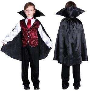 新品!ハロウィン 衣装 子供 男の子 ドラキュラ ヴァンパイア コウモリ コスプレ 吸血鬼 ハロウィン コスチューム 悪魔 ハロウィン衣装 仮装 コスプレ