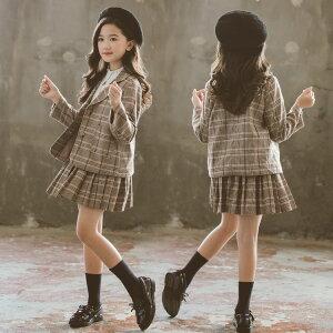 入学式 子供服 女の子 フォーマル スーツ 2点セット 韓国 子供服 卒業式 入学式 女の子 ジャケット 小学生 スーツ セーラー服 スーツ スカート フォーマルスカート卒園式 キッズ 七五三 お受験 結婚式 発表会 ジュニア フォーマル120cm-170cm