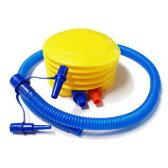 エアーポンプ 足踏みポンプ 空気入れ│エアーマット エアー枕用 浮き輪、ビニールプールにも 5000円以上送料無料