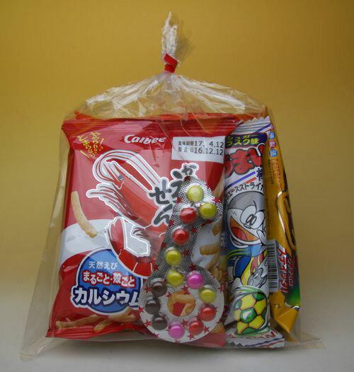 子供会向きの駄菓子詰め合わせセット(すべて国産品)180円セット A