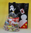 【キャラクターいろいろ】子供会向き駄菓子詰め合わせセットキャラクター手提げ袋入り お菓子セット#398の商品画像