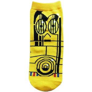 メンズ靴下 スターウォーズ C3PO  25-27cm