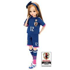 リカちゃん ドール 人形 なでしこジャパンモデル 2015