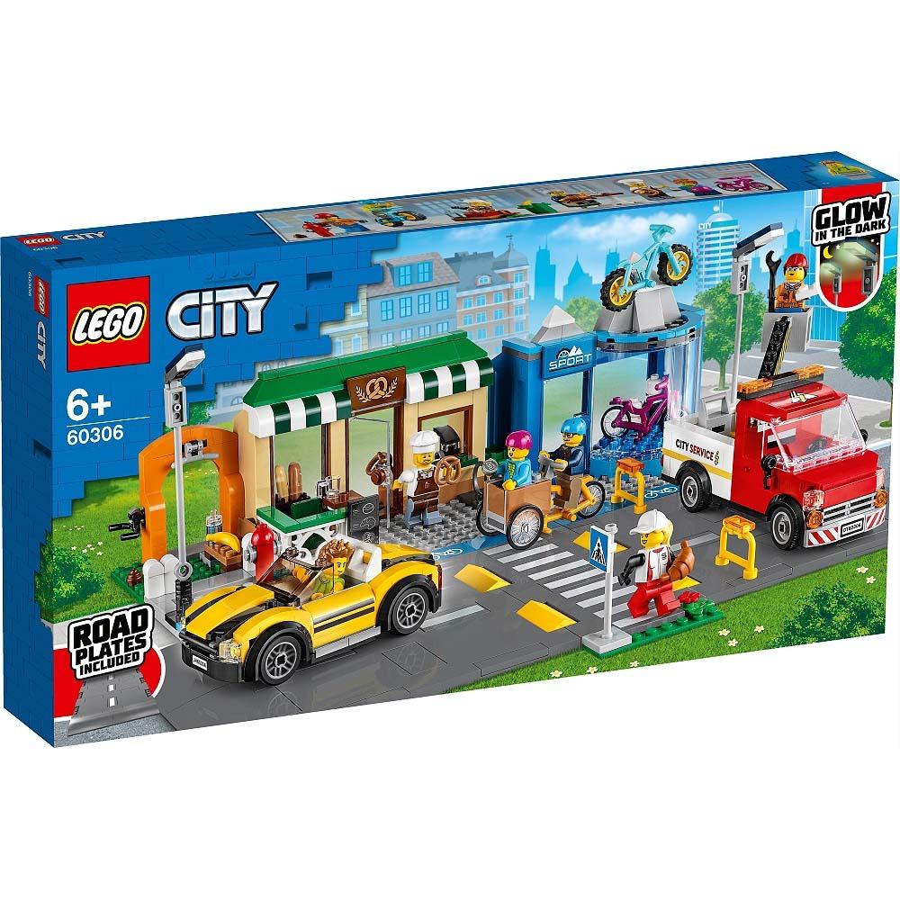 レゴ(LEGO) シティ ショッピング街 60306