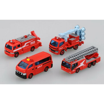 トミカギフト 消防車両コレクション2