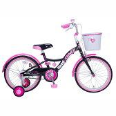 18インチ 子供用自転車 ハードキャンディ スパイスガール(ブラック)【送料無料】
