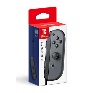【Nintendo Switch】Joy-Con(R) グレー