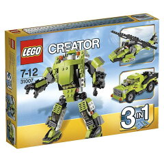 レゴ 31007 クリエイター・パワーメカ