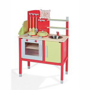 【プレゼント・ギフトに大人気!】フランスで人気の木製玩具「ジャノー」のおままごとキッチン...