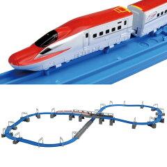 プラレールアドバンス E6系新幹線 連結&立体交差レールセット【送料無料】