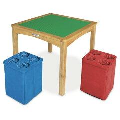 イマジナリウム リバーシブル ブロックテーブル&お片付けスツールボックス