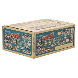 グ〜ン 肌にやさしいおしりふき 詰替え用 840枚(70枚×12個パック)