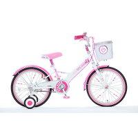 18インチ子供用自転車ハードキャンディージュエリーピンク【女の子向け】