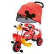 【クリアランス】アイベーシック アイデスカーゴドーム三輪車 ミッキーマウス(レッド)【送料無料】